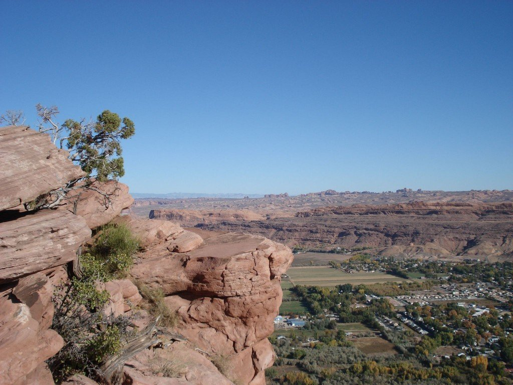 Moab is a small town surrounded by hundreds of miles beautiful canyon country. (Photo by Vicky Devine)