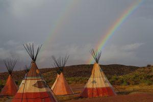Tipi Rainbow