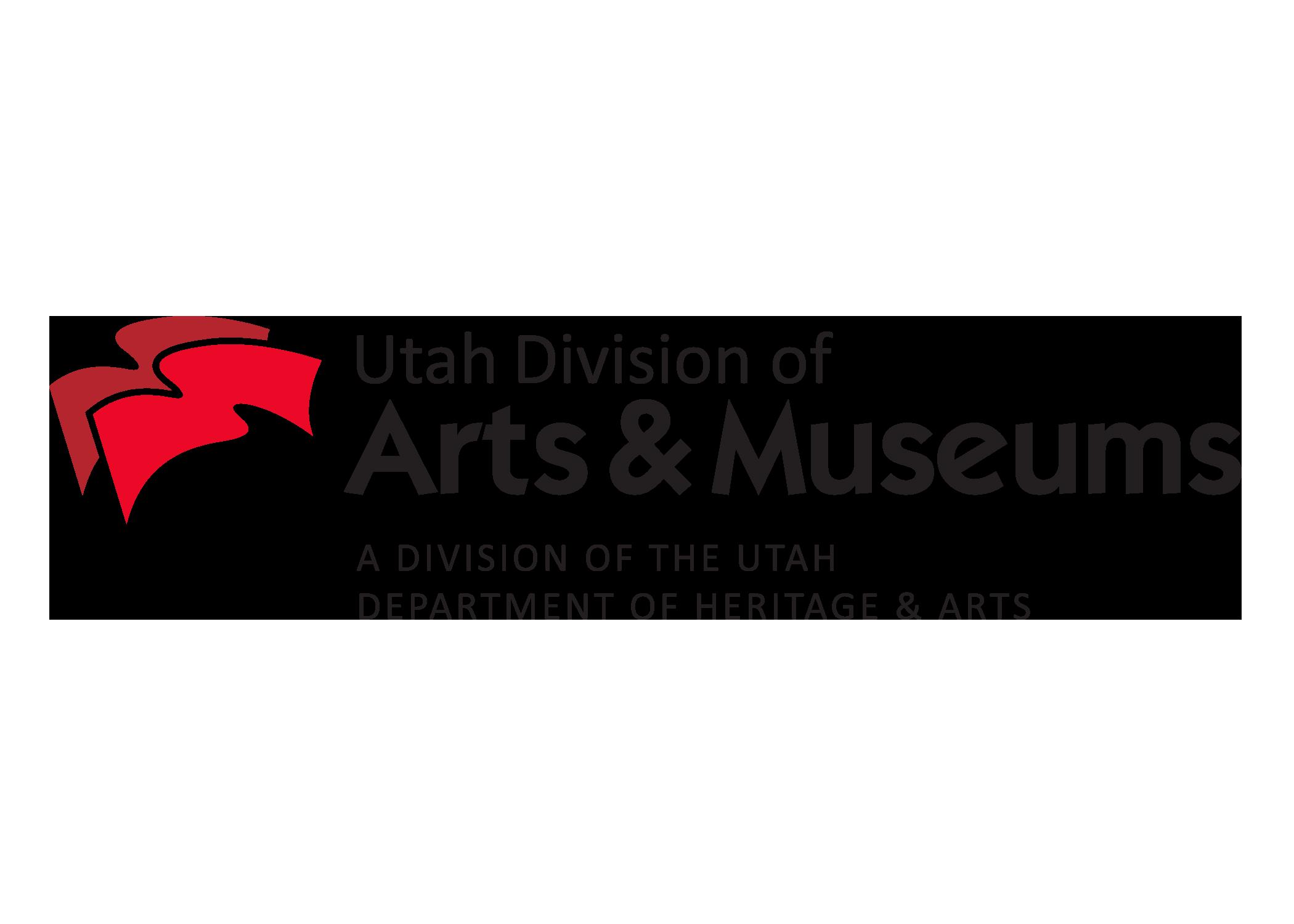 Utah-Arts-Museums-DHA-credit-Logo