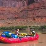 Quitely floating on the Colorado River